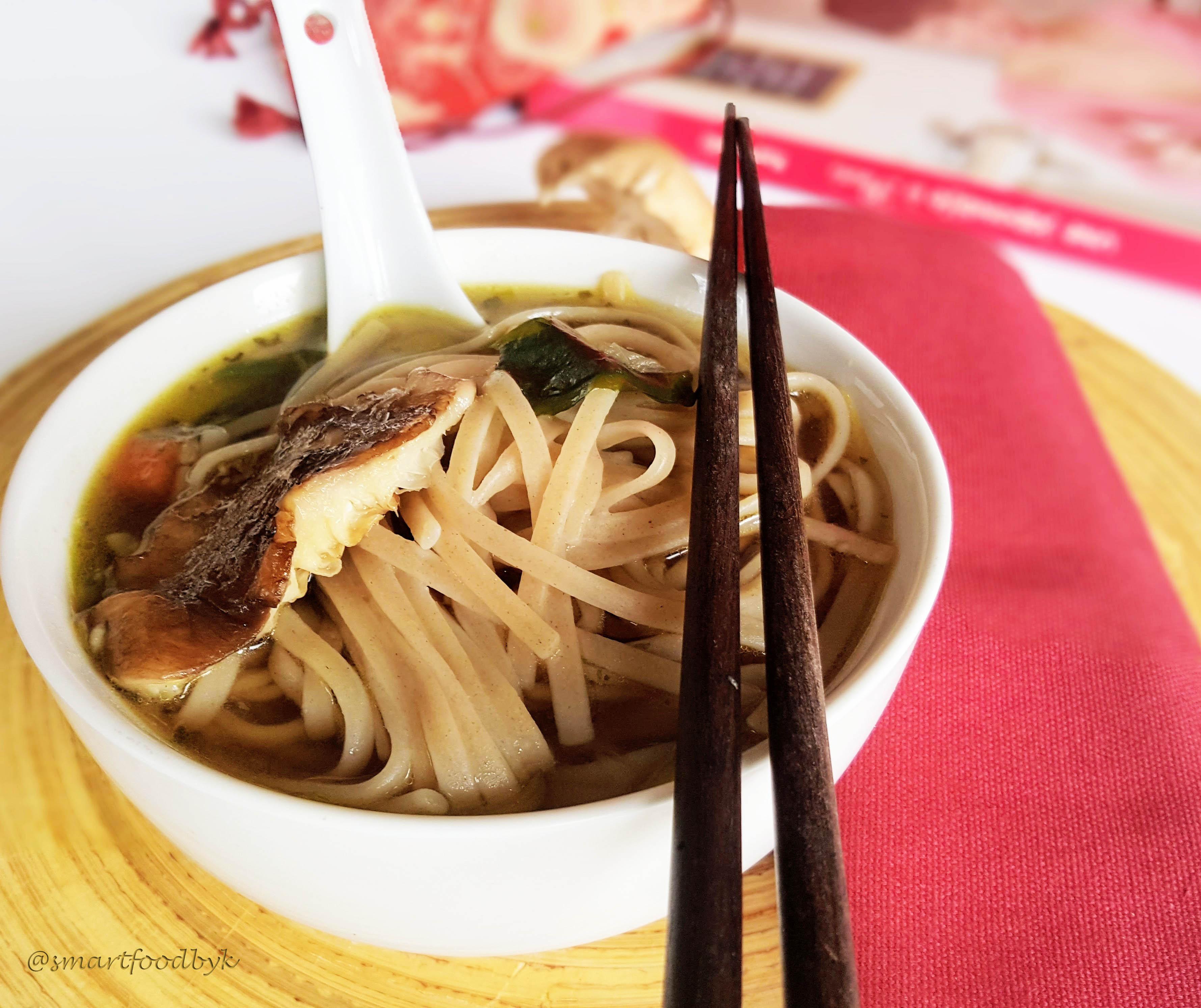 Inspiration japonaise – soba miso soupe