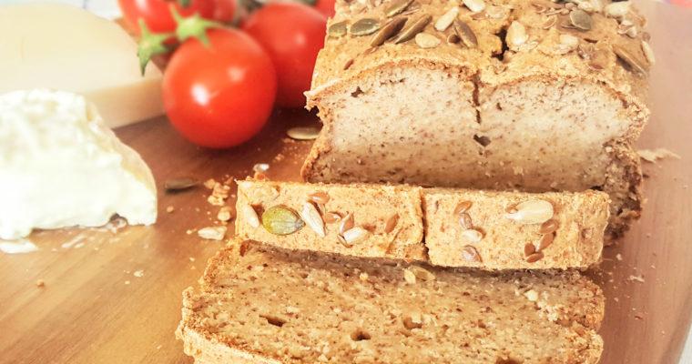Généreux pain aux graines (et sans gluten)