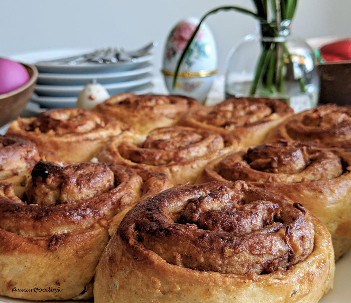 Kanelbullar – traditional Swedish cinnamon rolls