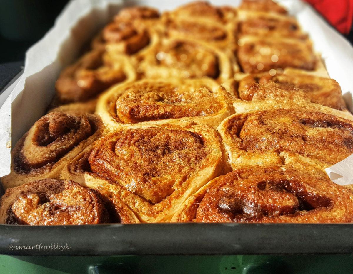 Traditional Swedish Cinnamon Rolls - Kanelbullars