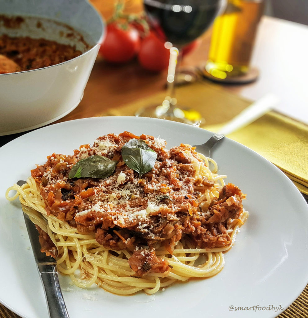 Veggie Bolognese French style