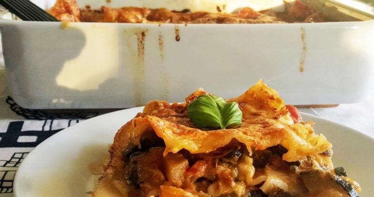 Lasagne végétarienne (très) gourmande