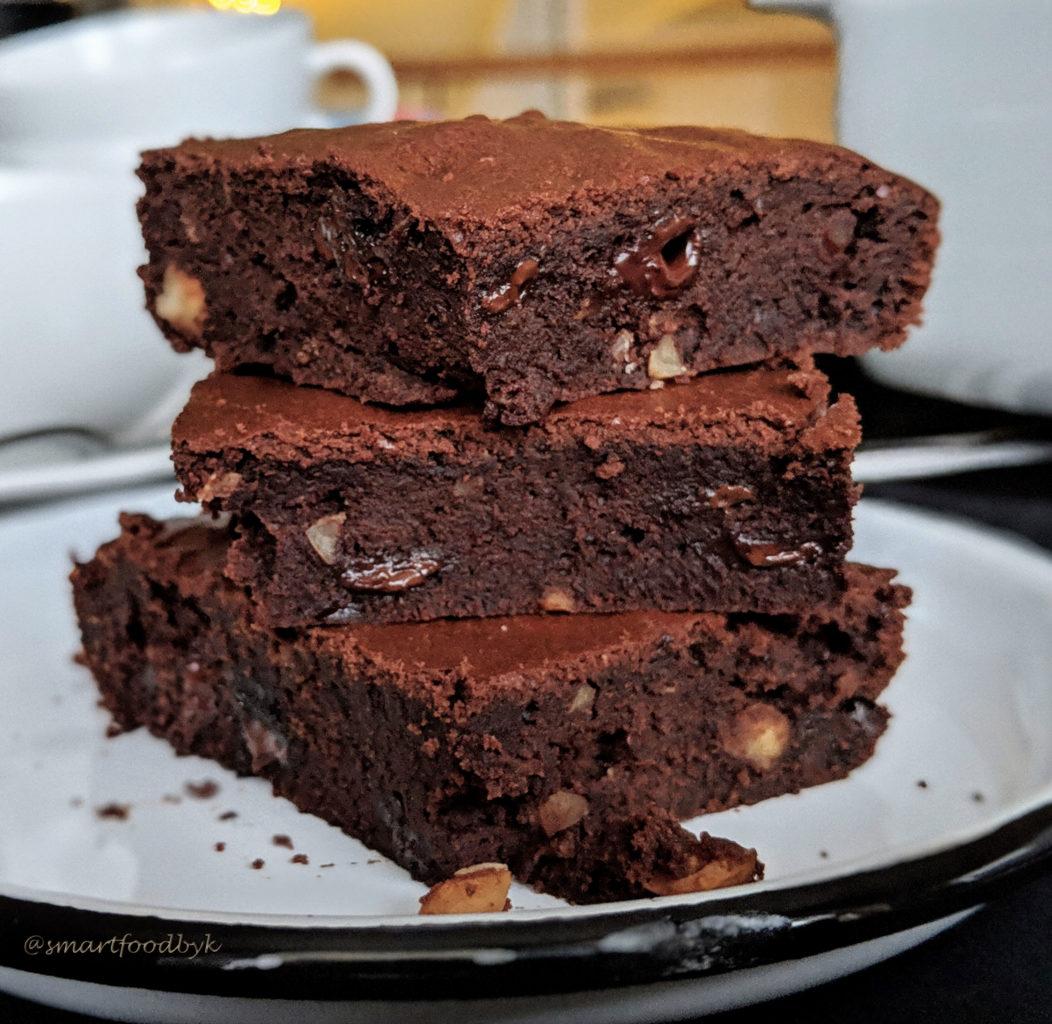 Brownie aux noisettes grillées