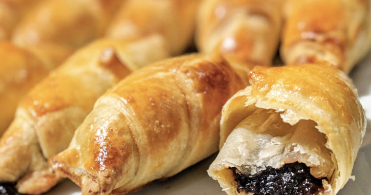 Super easy puff pastries, sweet or savoury