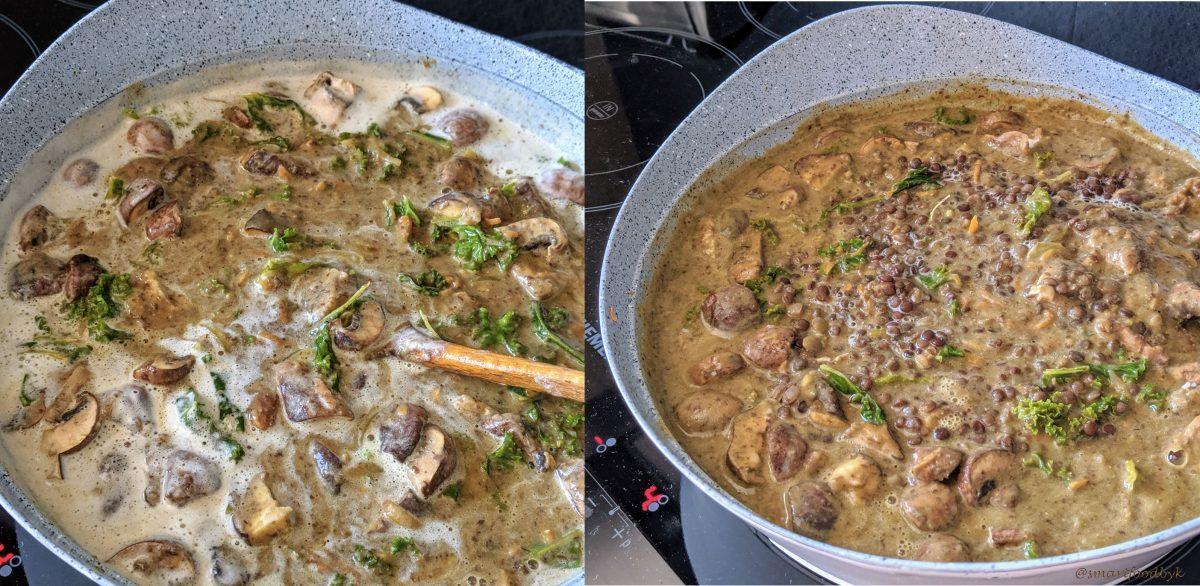 Lentil veggie stew, steps 6. Ragoût veggie de lentilles, étape 6.
