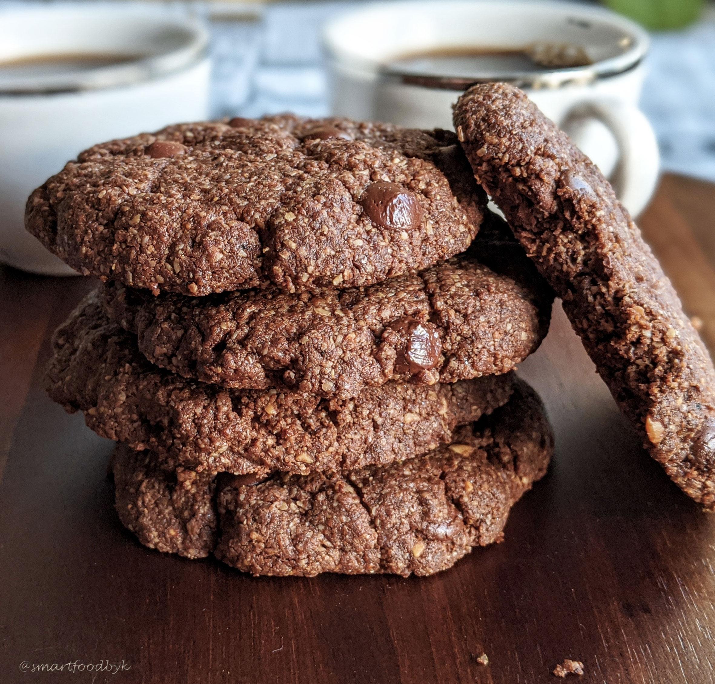 Cookies aux pépites de choco, rapides et cros bons