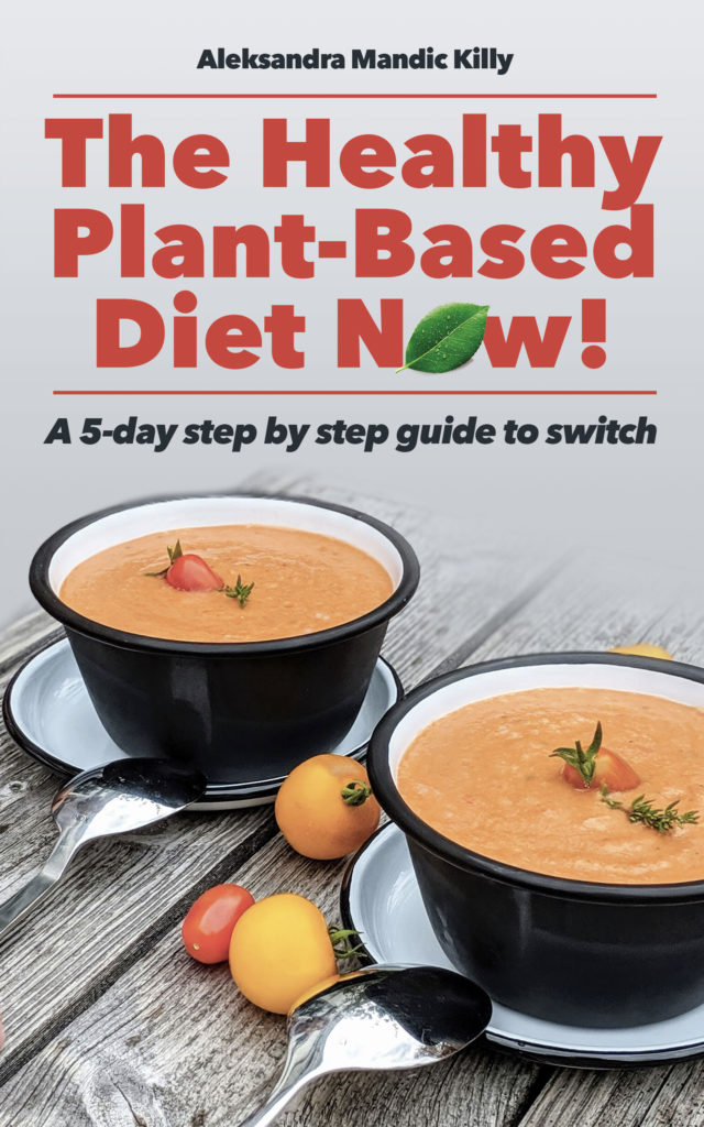 Healthy plant-based diet now - Book cover