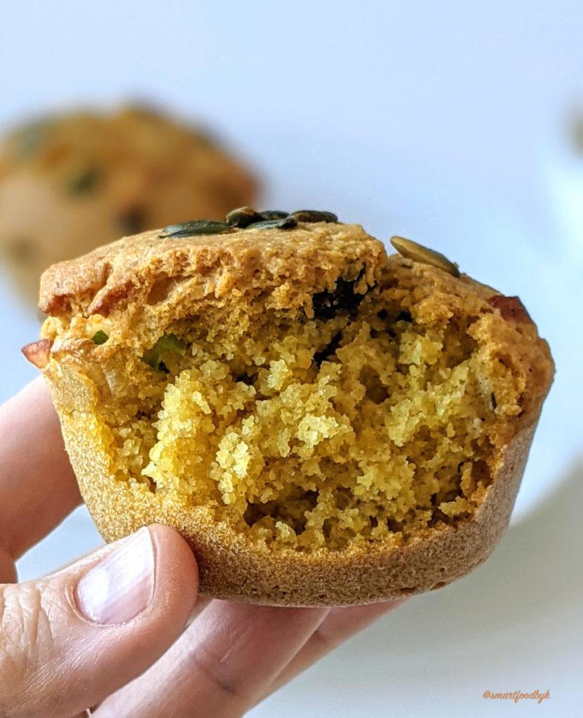 Savoury muffins for breakfast..